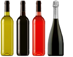 Umbria Wine Tours - bianco rosso rose frizzante